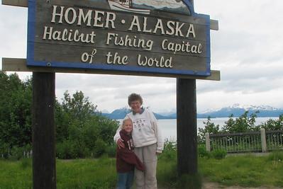 Homer Alaska, June 2006