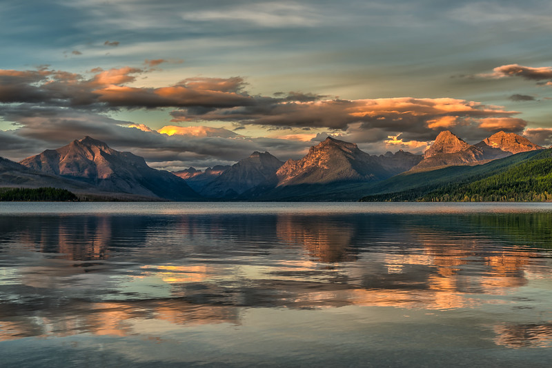 Lake McDonald Sunset