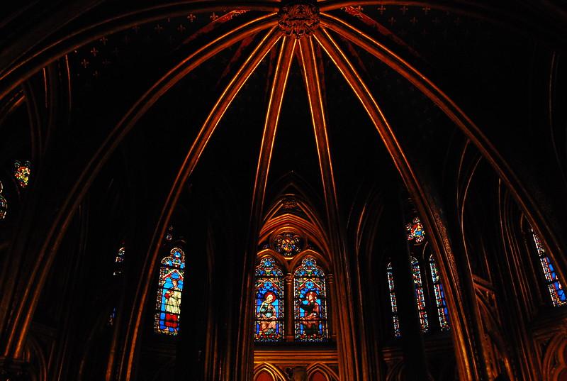 Sainte Chapelle, lower level.