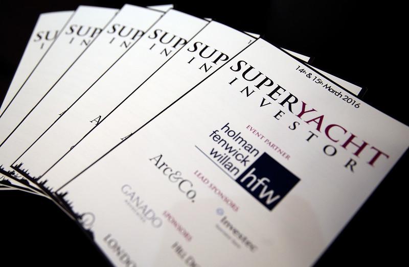 Super Yacht Investor 2016
