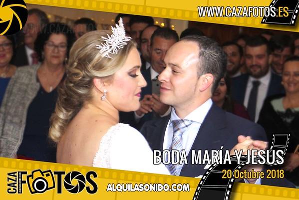 BODA MARÍA Y JESÚS - 20 OCTUBRE 2018