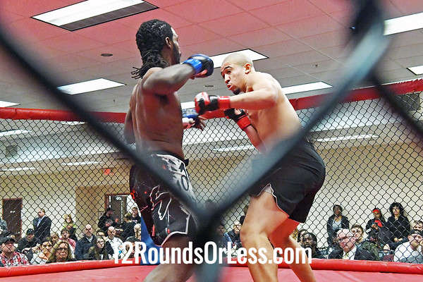 Amateur Bout #2:  Klevon Hill (2-0)  vs  Byron Norwood (2-0)