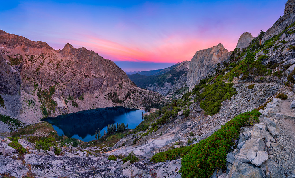 Best Photography Spots Along the High Sierra Trail