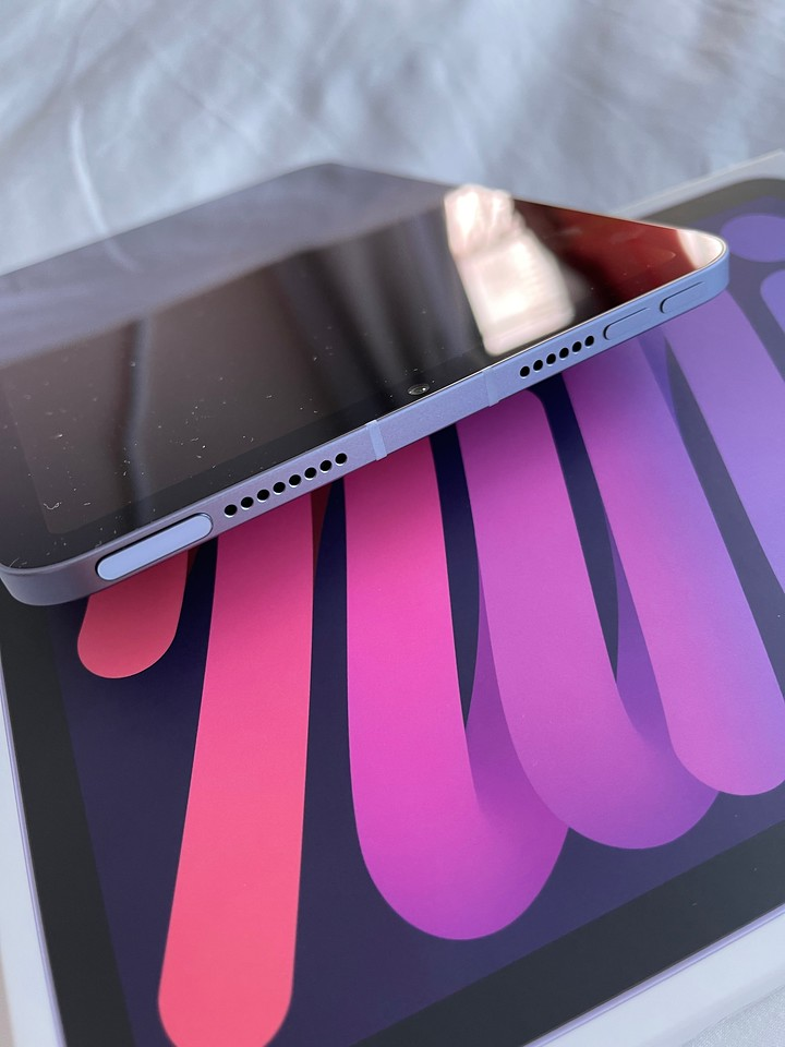 Purple iPad mini 2021