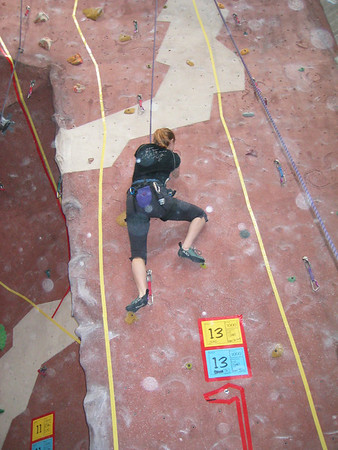 Quick on the Draw Climbing Competition