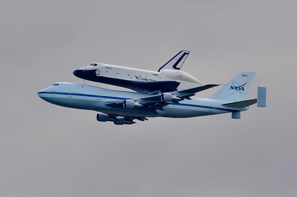 Space Shuttle Enterprise Final Flight