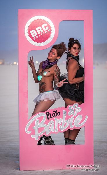 Black Rock City Barbie was very popular.