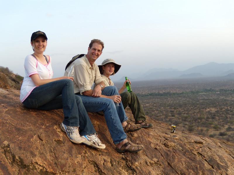 Audrey, Curtis, and Elaine