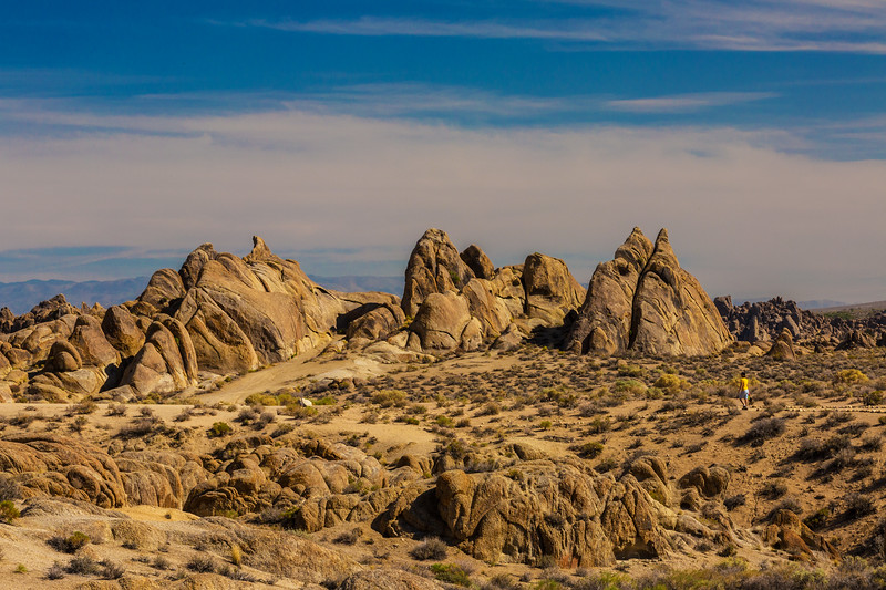 Hiker Alabama Hills