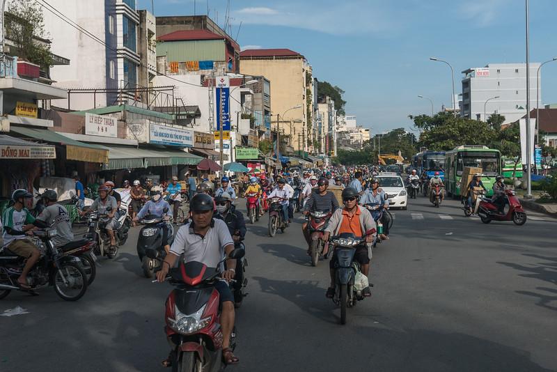In Cholon, the Chinatown in Saigon, Vietnam.