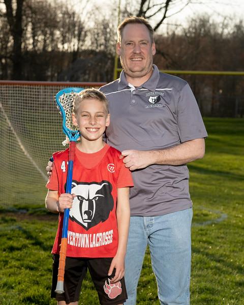 2021 Boyertown Optimist Lacrosse Coach/Player Photos