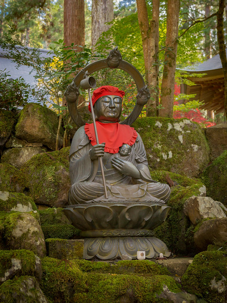 Jizo-sama at the Eiheiji Temple 2.