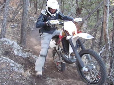 Cedro Peak area ST Ride  11-26-12