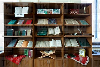 09.04.2019  Выставка Корана в Нац библиотеке (Салават Камалетдинов)