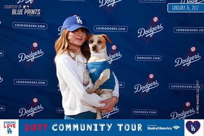 012617 - Dodger Dog Portraits