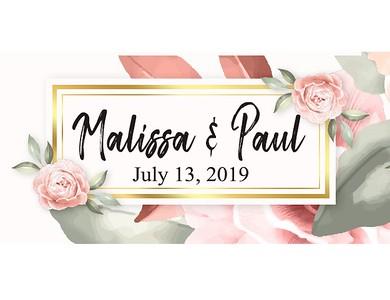 Malissa & Paul's Wedding!