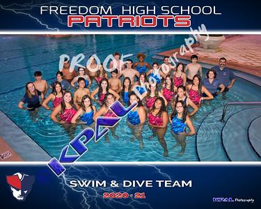 Freedom Swim Team 2020