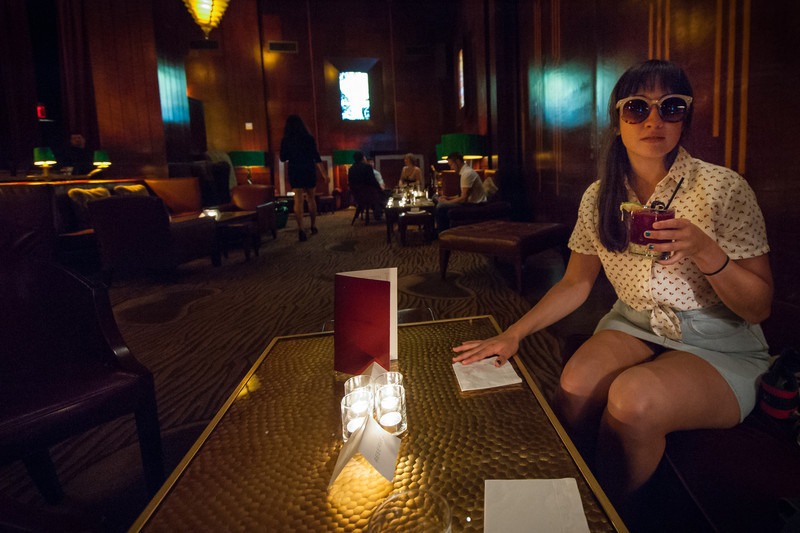 The Redwood Room, Clift Hotel