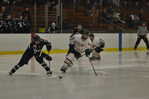 Williams women's hockey beats Bowdoin for first NESCAC championship