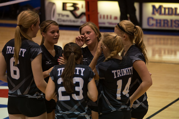 Trinity VB vs Midland Christian - Aug 2014