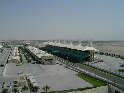 Formula BMW test drive, Bahrain 2006