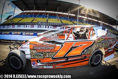 Super DIRT Week XLIII 10/10/14 Sportsman Series - Rebecca Eisele
