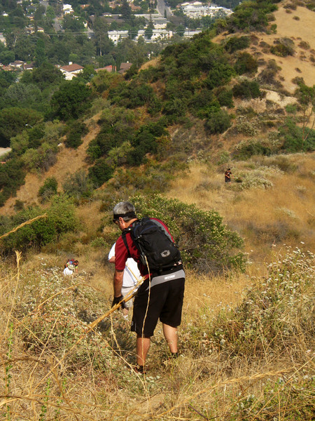 20080625008-Glendale Las Flores Trailwork.JPG