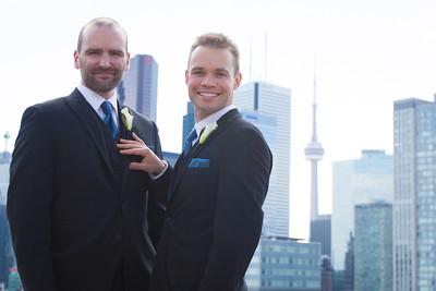 2012-09 Toronto - Chris + Malcolm