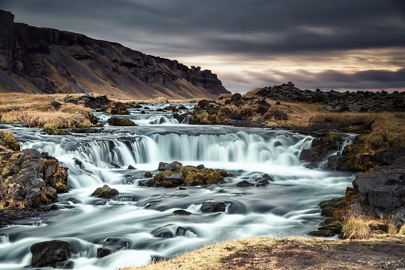 Small falls near Foss á Síðu