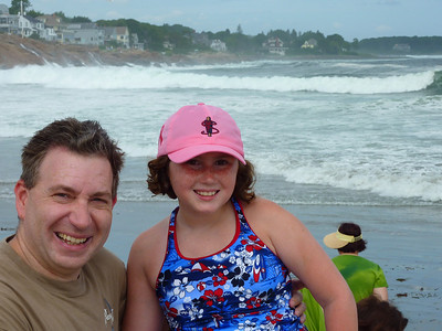 York Beach photos thanks to Hurricane Bill