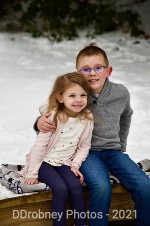 Kelley Family in Hyde Park - Feb, 2021