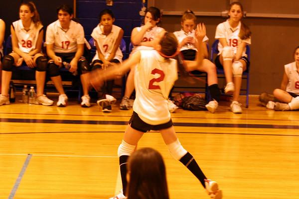 20061212 Samantha's Volleyball