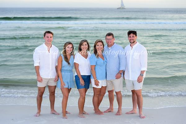 The King family 2021  |  Panama City Beach