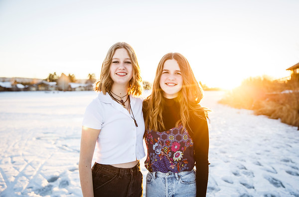 Gracen and Avery   January