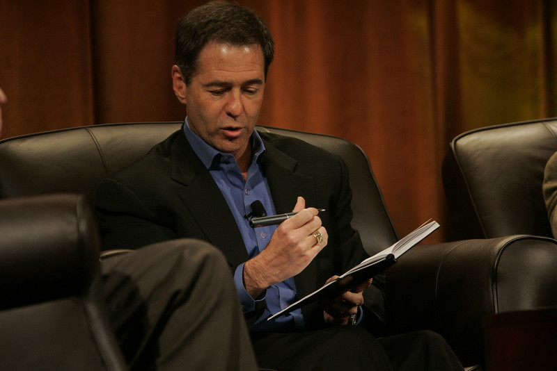 """""""Hotspots I"""": Jim Marggraff, chair and CEO of Livescribe, demonstrates the Pulse smartpen"""