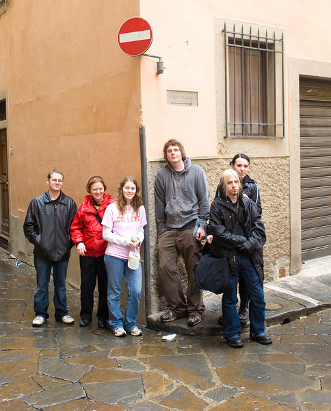 University Honors trip to Italy
