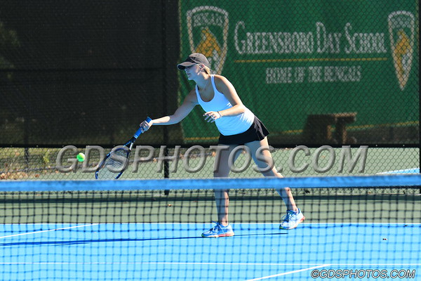 VARSITY GIRLS TENNIS VS. WESLEYAN 09-23-2019