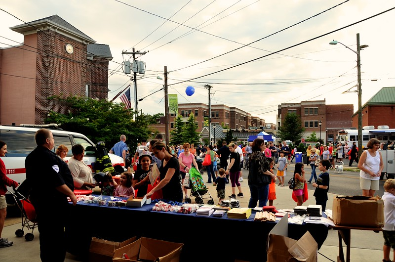8-6-2013(Camden County)COLLINGSWOOD National  Night Out