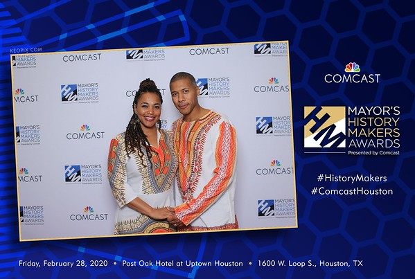 2.28.2020 - Comcast - Mayors History Makers Awards