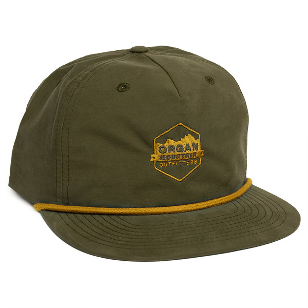 Outdoor Apparel - Organ Mountain Outfitters - Hat - Vintage Snapback - Olive.jpg