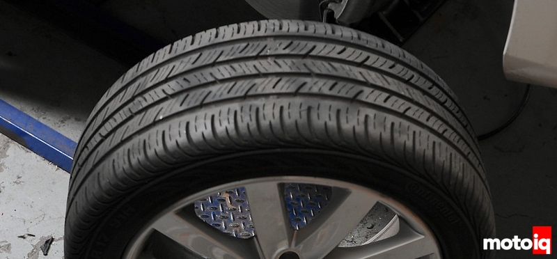 Project MKVI Golf TDI Handling Upgrades Continental OEM tires
