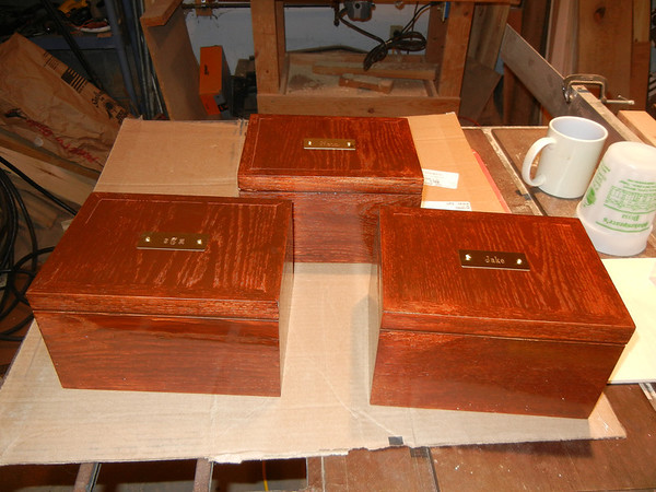 Jewelry Boxes - Christmas 2012