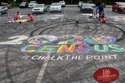 City of East Point Chalk The Point