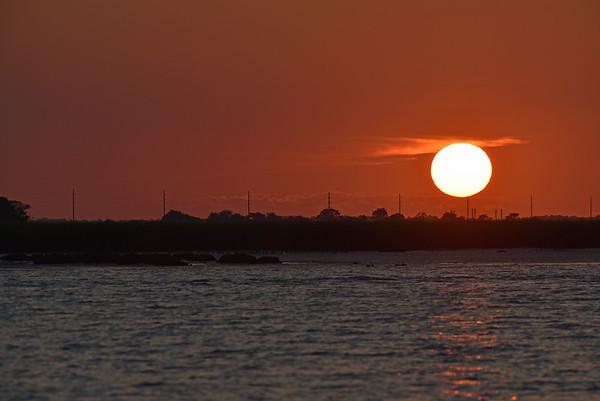 Jekyll Island Boat Tours Dolphin Daze Sunset 07-11-20