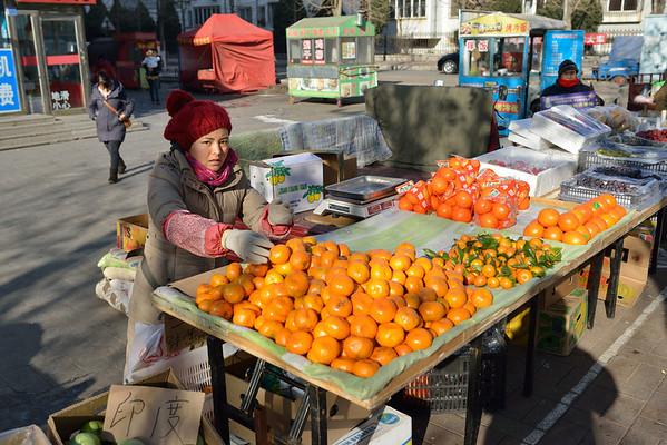 China - Dalian Street Market