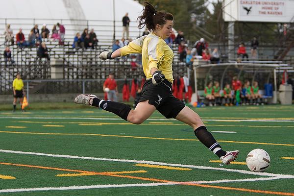 Carleton Ravens Womens Soccer 09-10 season