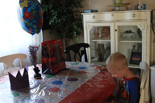 Morgan's 5th Birthday Family & Friend parties
