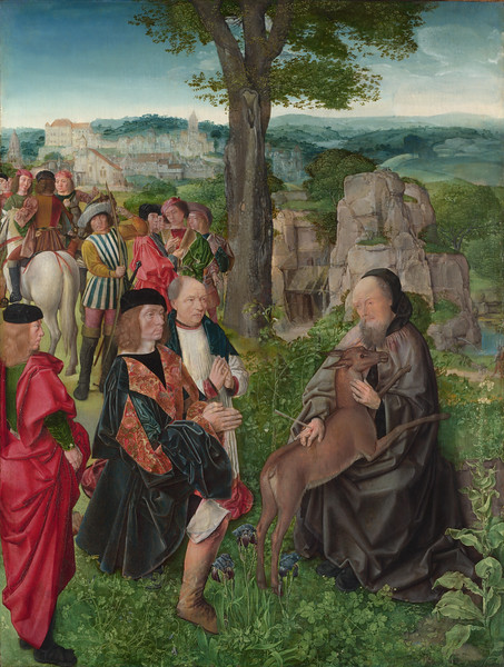 Saint Giles and the Hind