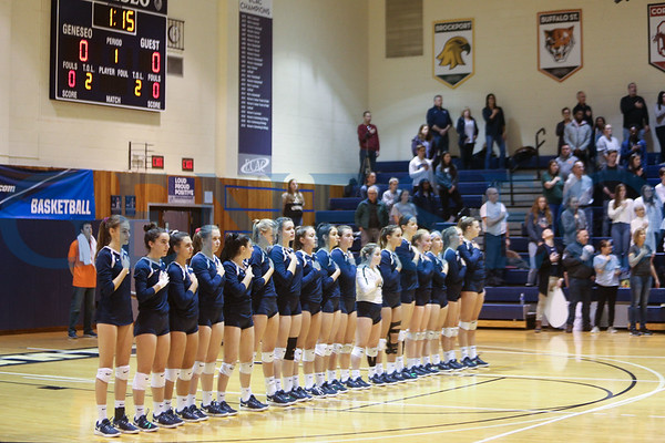 Volleyball vs. Brockport (SUNYAC Championship, Photos by BG)