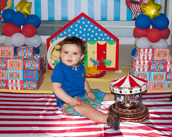 Zacary 1st Birthday